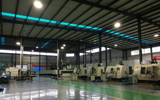 CNC金属加工中心展示
