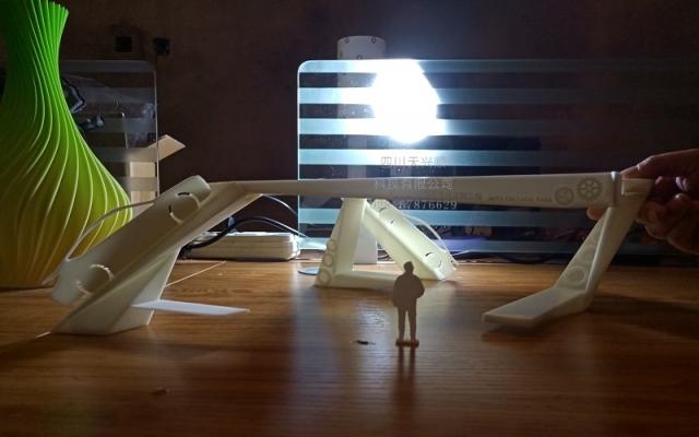 某公司汽车廊架3D打印模型