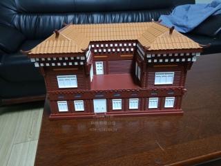 藏式建筑模型