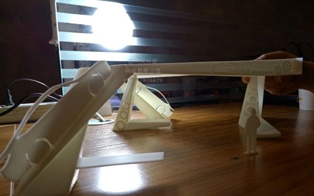 某单位3D打印展会现场装饰小样