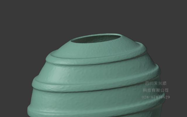 欧式干花瓶模型设计
