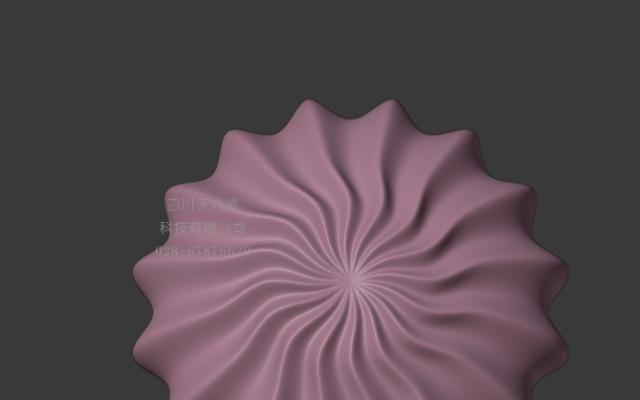 贝壳形状灯罩3D打印模型设计